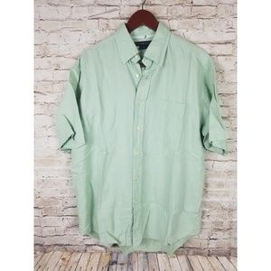 Tommy HIlfiger Shirt  Button Down Large Linen Lrg